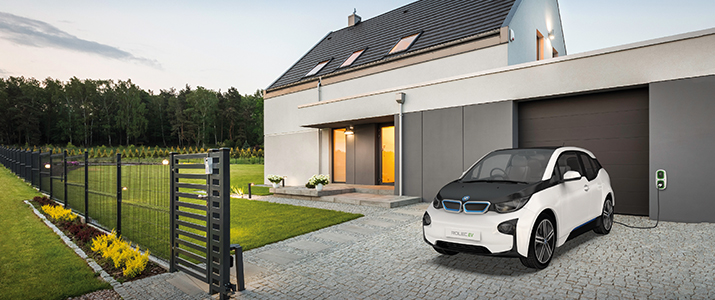 Rolec Electric Vehicle Charger Point/Station at Home Installer Surrey